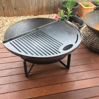 fire pit grill plates